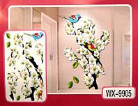 3D Декор - инсталляция ЦВЕТЫ WX-9905