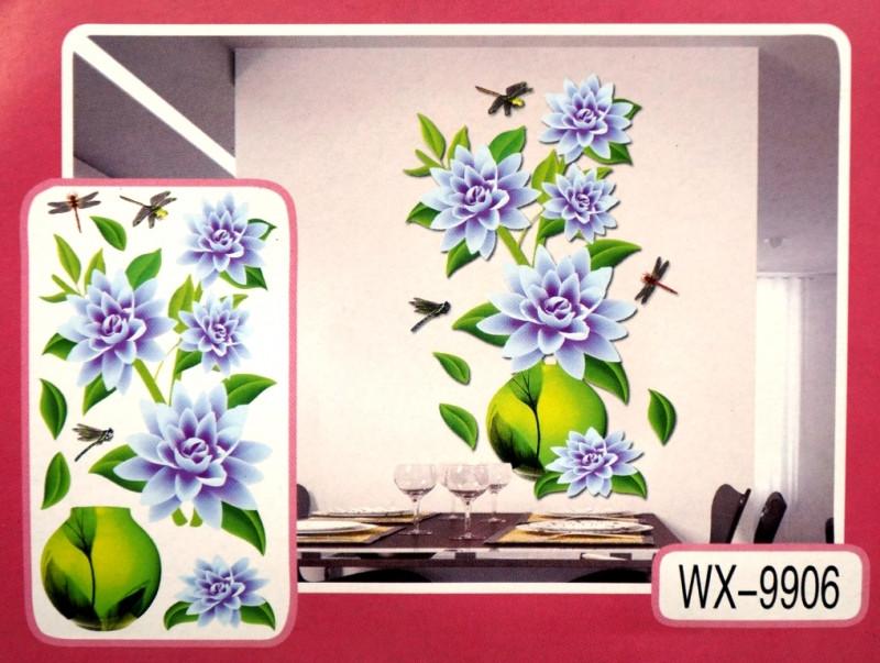 3D Декор - инсталляция ЦВЕТЫ WX-9906