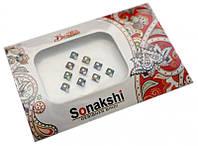 """Комплект наклеек на лицо или на ногти """"Sonakshi Bindi"""" №13"""