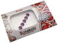 """Комплект наклеек на лицо или на ногти """"Sonakshi Bindi"""" №20"""