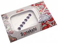 """Комплект наклеек на лицо или на ногти """"Sonakshi Bindi"""" №30"""