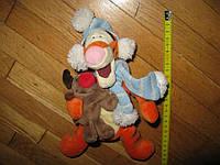 ТИГРА DISNEY, Санта+Олень маленький,игрушка мягкая