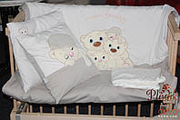 Детское постельное белье в кроватку из трикотажа Warm Family