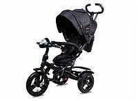 Трехколесный велосипед Neo 4 Air надувные колеса, черный