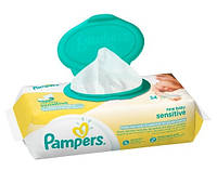 Влажные салфетки Pampers New Baby Sensitive 54 шт.