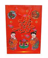 Пакетик подарочный с символикой Фэн Шуй