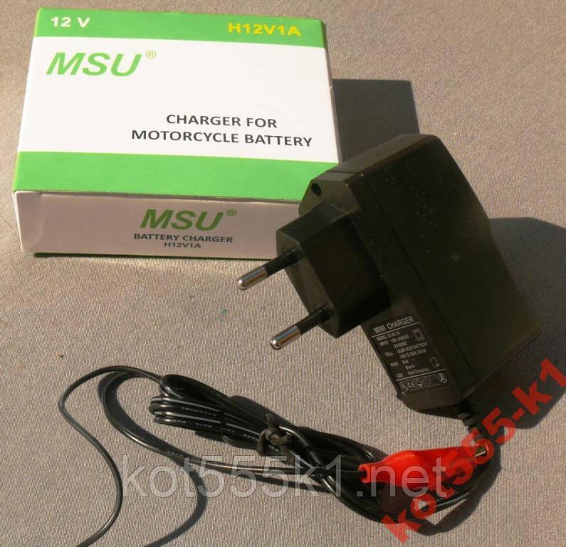 Зарядное устройство для скутера 12V1A