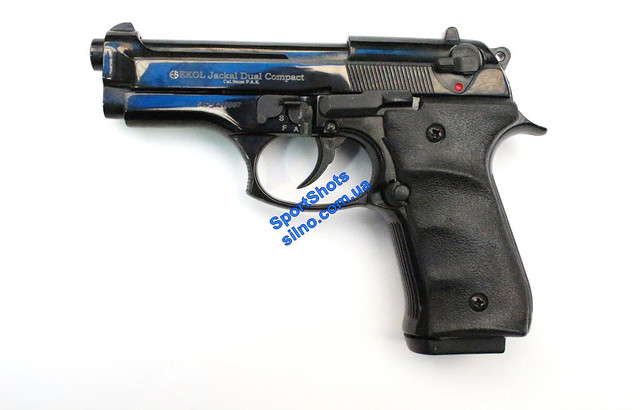Стартовый пистолет Ekol Jackal Dual Compact Auto Black
