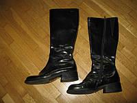Сапоги кожаные VAGA BOND, 24 см, в хорошем сост.