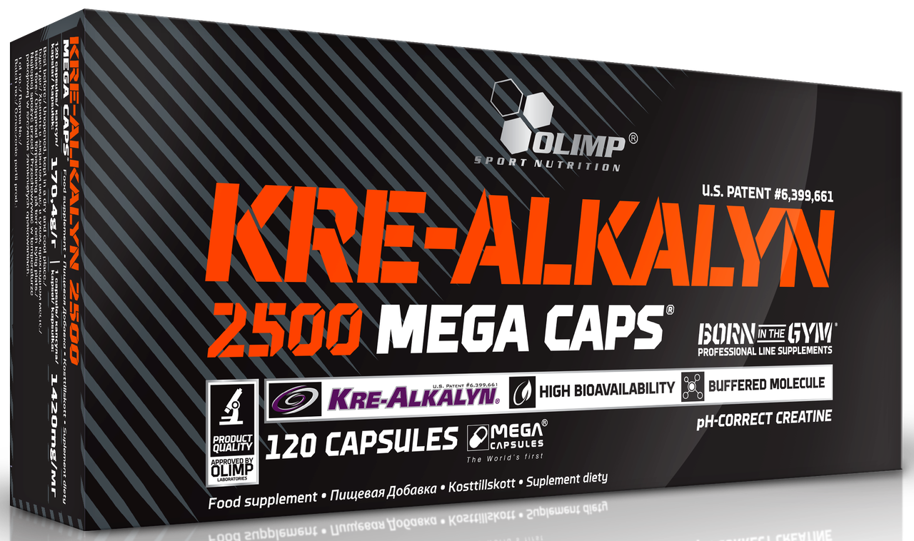 Olimp Kre-Alkalyn 2500 Mega Caps 120 caps