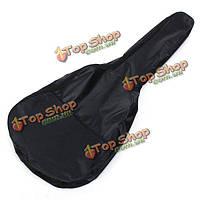 Мешок концерта гитары водонепроницаемая мягкая черная сумка для баса гитары