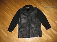 Куртка кожаная NAF NAF, S-M, сост. ОТЛИЧНОЕ!!!