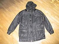 Куртка кожаная PELLE, XL-XXL, в хорошем сост.