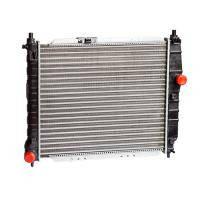 Радиатор вод. охлаждения Chevrolet Aveo 1.5 8V (пр-во AURORA,Польша)