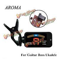 Аромат в-100 бас-гитары укулеле Clip-на цифровой гитарный тюнер