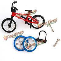 Палец велосипед мини игрушка сплава многоцветные дети подарочные спорта