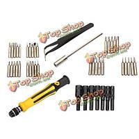 Инструменты для обслуживания 45 в 1 многофункциональный набор отвертки