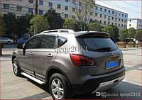 Nissan Qashqai 2007-2010 гг. Боковые площадки Original-style (2 шт., алюм.)