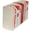 Полотенца бумажные сложения ZZ образные белые, 200л. Standart-200