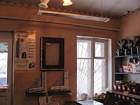Комбинированное отопление потолочными обогревателями