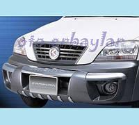 Kia Sorento 2004-2010 гг. Передняя накладка F001 (пластик)