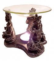 Аромалампа Три Куберы со стеклянной чашей