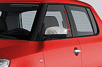 Seat Toledo 2012+ гг. Накладки не зеркала (2 шт, нерж)