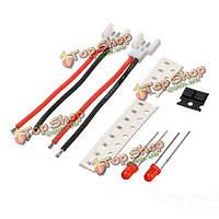 Батарея Li-po аккумулятор 1С подключите от 1 до 4 зарядный кабель Сделай сам упор для мини супер Ср