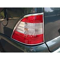 Накладки на задние фонари Mercedes ML 163