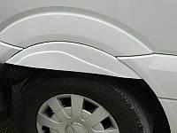 Volkswagen Crafter 2006+ и 2011+ гг. Накладки на задние арки (под покраску)