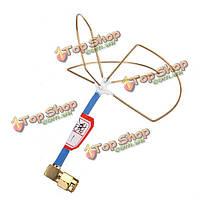 2.4G с 3 листьями всенаправленная коэффициент усиления антенны для передатчика