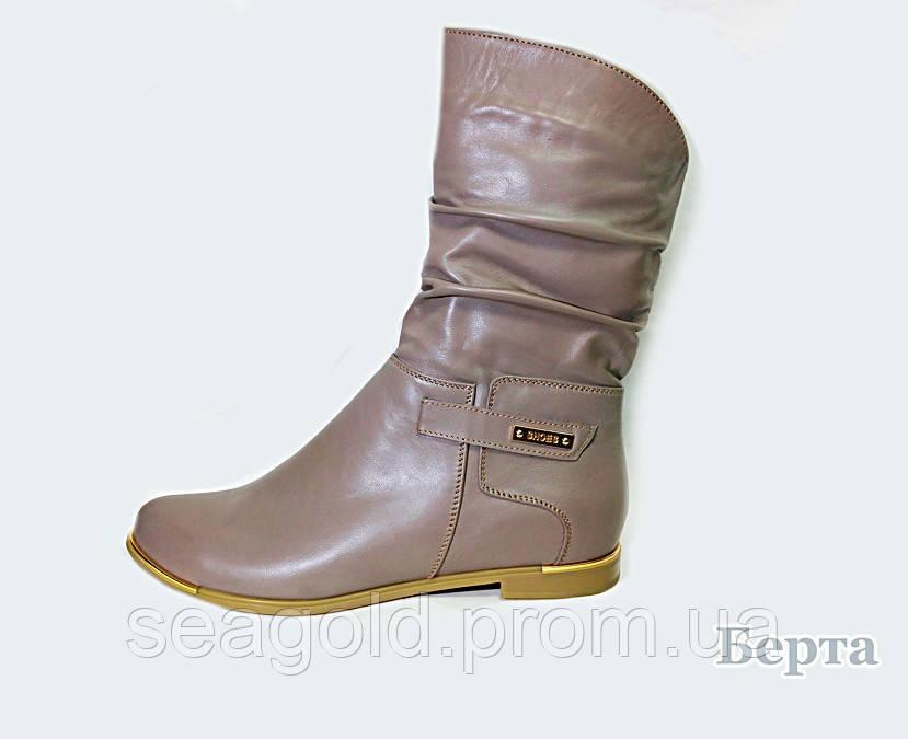 f7190a95c680 Женские кожаные полусапоги мод.