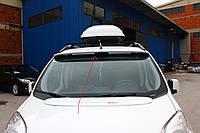 Fiat Fiorino/Qubo 2008+ гг. Козырек на лобовое стекло (под покраску)
