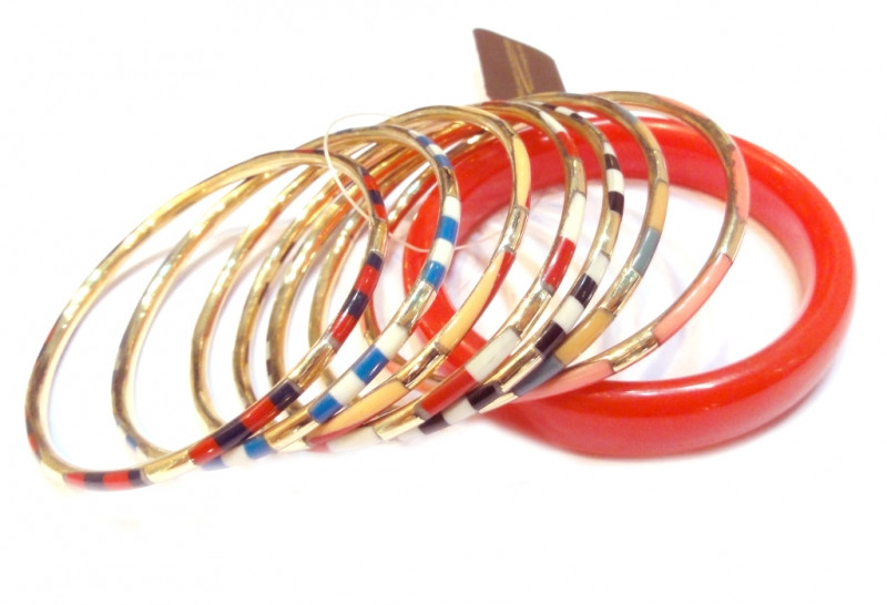 Комплект из 8-ти браслетов NК1530