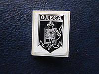 Значок Одесса герб стекло трещина