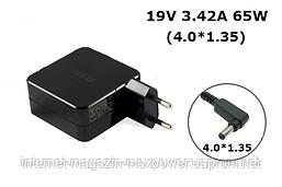 Блок живлення для ноутбука Оригінальний Asus 19V 3.42 A 65W (4.0*1.35) ADP-65DW, UX50, UX303, UX30, UX42VS,U38N