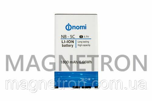 Аккумуляторная батарея NB-5C/182 Li-ion 1800mAh для телефонов Nomi i182