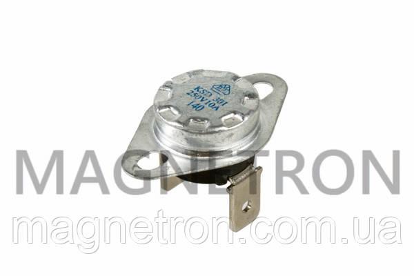 Термостат для конвекторных обогревателей KSD301 250V 10A 140°C, фото 2