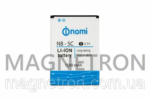 Аккумуляторная батарея NB-5C/300 Li-ion 1500mAh для телефонов Nomi i300