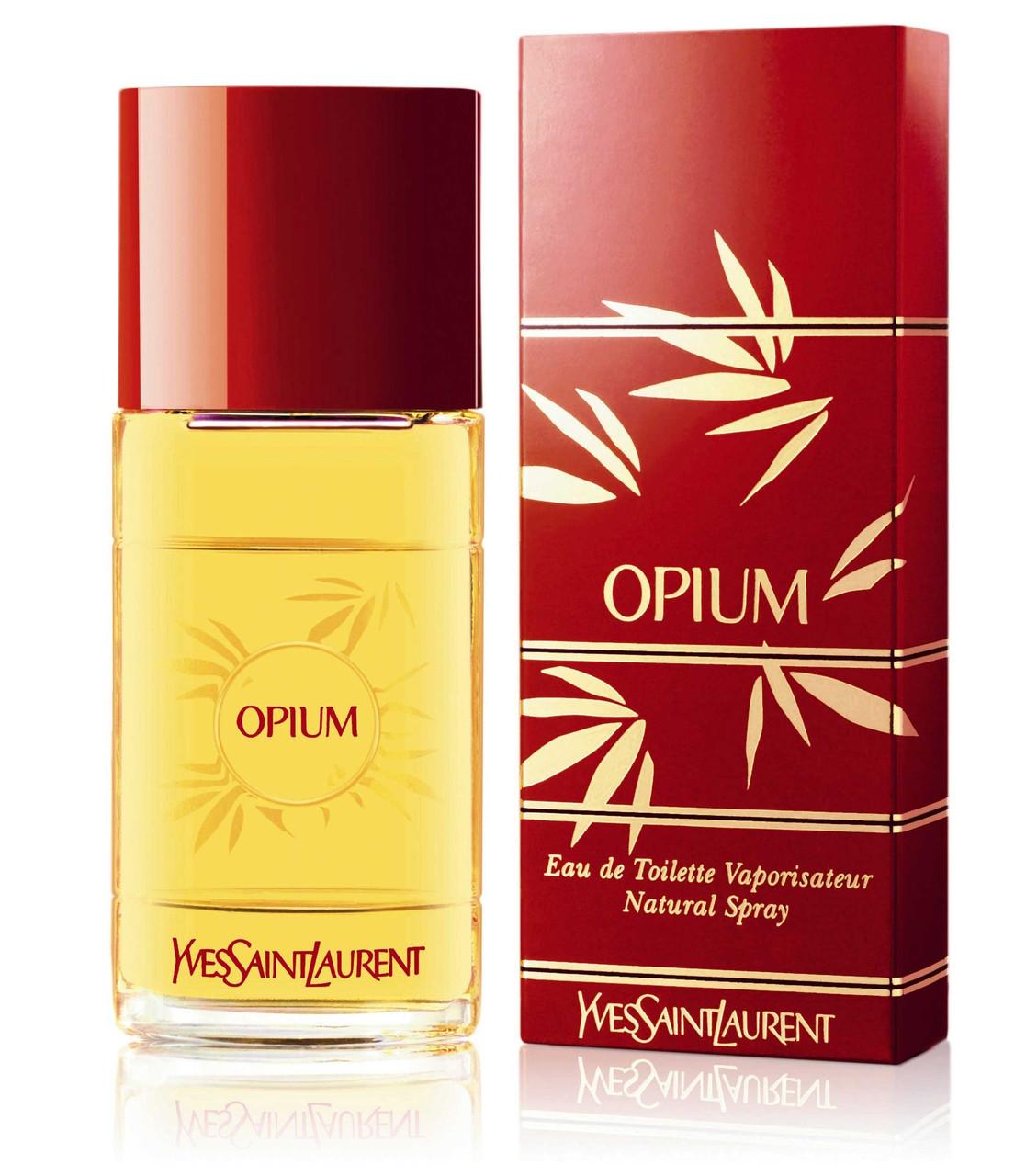 Yves Saint Laurent Opium Eau de Toilette Vaporisateur туалетная вода 100 ml. (Ив Сен Лоран Опиум Туалет)
