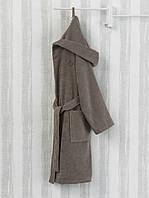 Банный халат MARIE CLAIRE SKIMMIA CAMEL коричневый