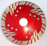 Алмазный диск для глубокой резки гранита  RED Turbo 115x2,4x10(24)x22,23 L4