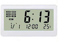 Многофункциональные настольные электронные часы, комнатный термометр, календарь