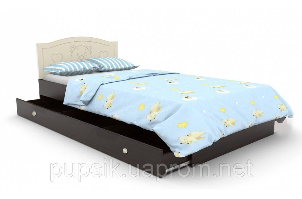 """Кровать подростковая Вальтер """"Мишка"""" №5 (2 размера)"""