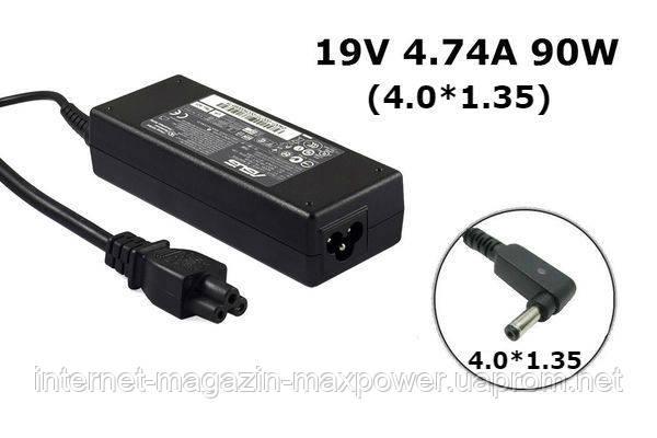 Блок питания для ноутбука Оригинальный Asus 19V 4.74A 90W (4.0*1.35) ADP-90YD B, PA-1900-34, EXA1202YH, UX51V