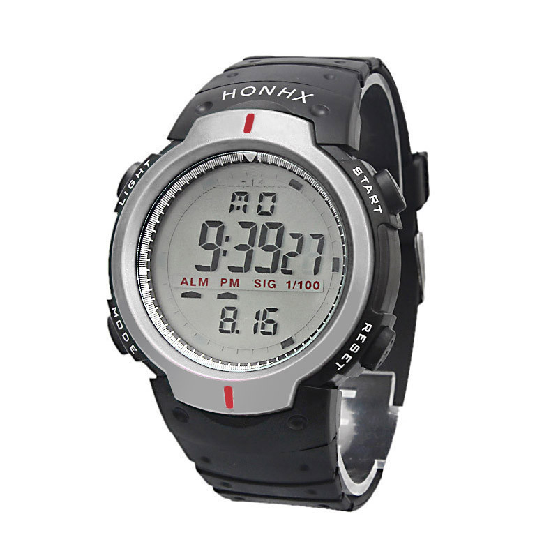 Армейские электронные часы Honhx Silver