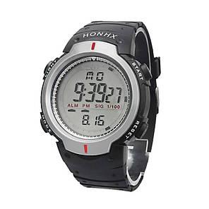 Армейские электронные часы Honhx Silver, фото 2