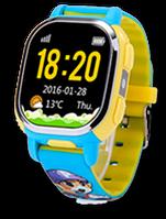 Детские часы Tencent PQ708 QQ Watch Smart GPS WIFI Camera Цветной, голубой