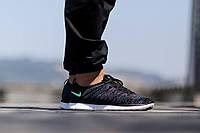 Кроссовки мужские беговые Nike Free Run Flyknit  (найк фри ран)