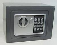 Взломостойкий сейф с электронным замком Арсенал 17E, 2 ригеля, с индикатором питания